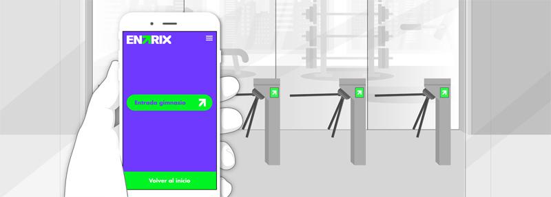 app control clientes gimnasio
